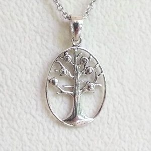 JUST IN  Tree of Life Pendant with Chain
